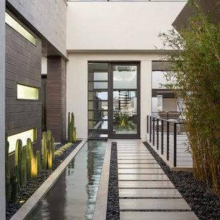 Custom Design - Courtyard - New American Home 2013