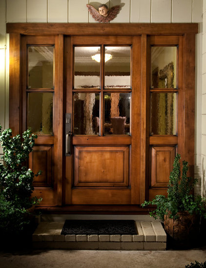 Transitional Entry by Antigua Doors