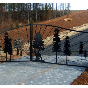 Custom Driveway Gates and Entrance Design