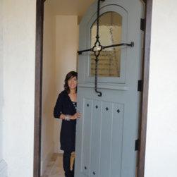 Custom 9 Feet Entry Door - Antigua Cusom Paint Grade Door