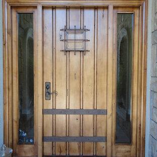 Custom Entry Door with side lights
