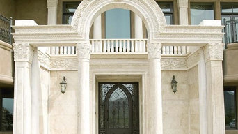 Custom Entryway and Columns