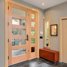 Contemporary Entry by Schulte Construction