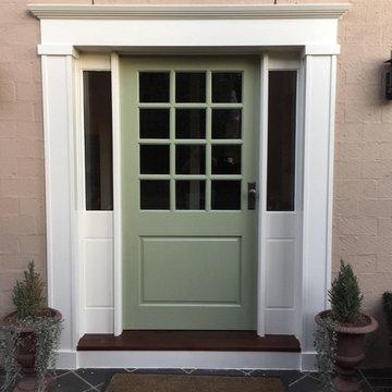 Custom Front Entrance - External View