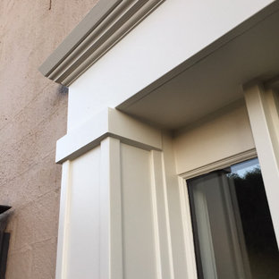 Custom Front Entrance - Trim