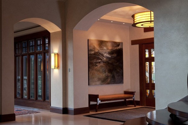 Contemporary Entry by Hammerton Lighting