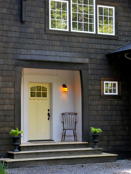 Dark Stained Front Door Houzz