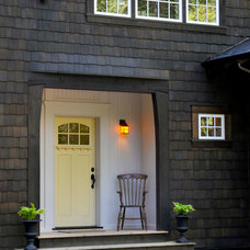 Traditional Entry Custom Home Built By SFH