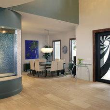 Modern Entry by Devonshire Custom Homes