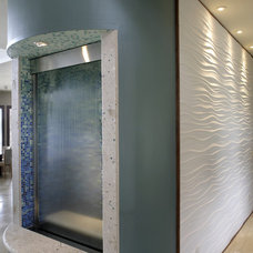 Modern Entry by Devonshire Custom Homes