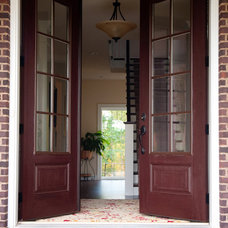 Traditional Entry by Metzler Home Builders