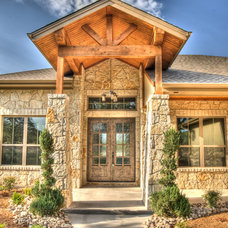 Traditional Entry by J. Bryant Boyd, Design-Build