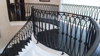 Custom Iron Staircase & Railing