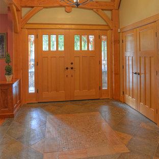 Idee per un ingresso o corridoio stile americano