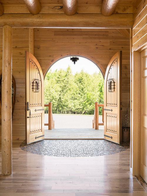 Houzz Rustic Foyer : Rustic small foyer entryway design ideas remodels photos