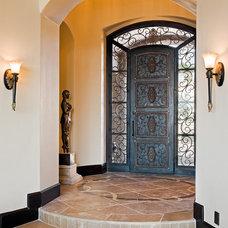 Mediterranean Entry by Jenkins Custom Homes