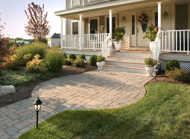Front Porch And Landscaping Ideas Frt