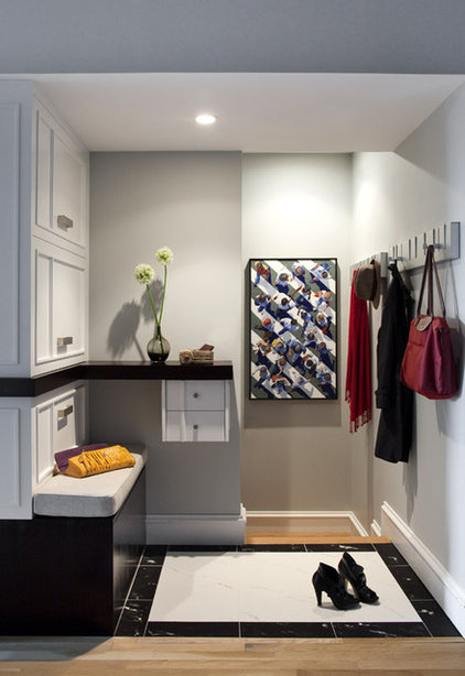 Modern Entry by Eleven Interiors