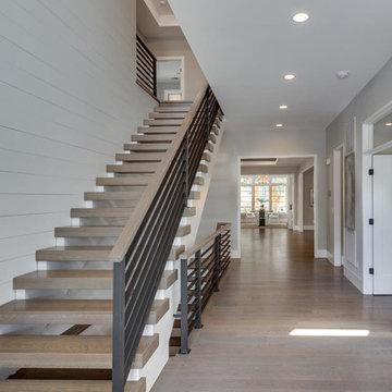 Custom Prairie with Contemporary Interior