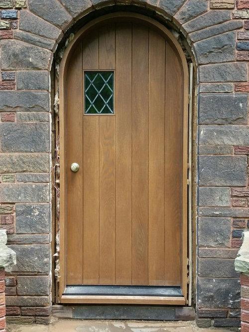 Custom Quarter Sawn White Oak Exterior Door