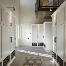 Contemporary Entry by Zoltan Construction LLC