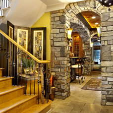 Eclectic Entry by Sater Design Collection, Inc.