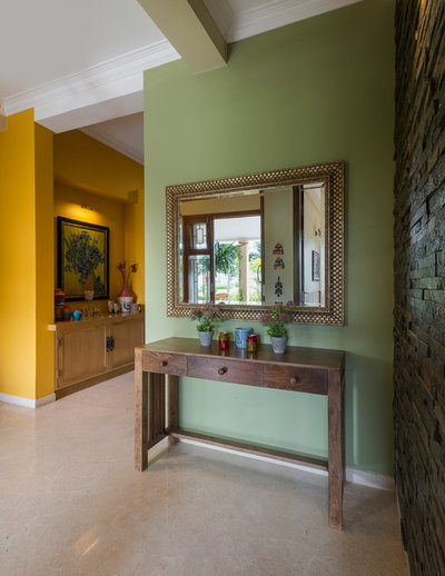 Eclectic Entry by Shefali Singh, Architect