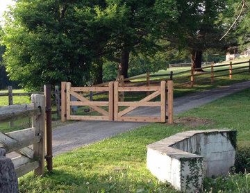 Custom Wooden Gate