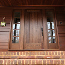 Traditional Entry by Van Jester Woodworks