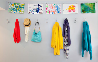 Clip It Up: 8 Ways to Display Kids' Art