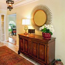 Traditional Entry by Dona Rosene Interiors