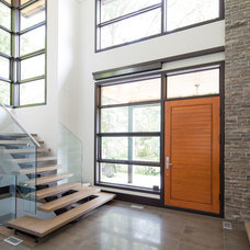 Modern Entry by David Small Designs