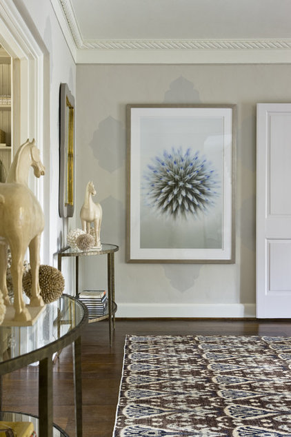 Contemporary Entry by Liz Levin Interiors