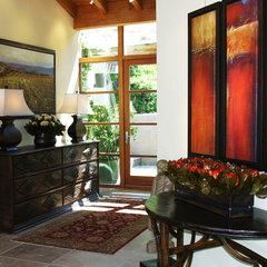 contemporary entry by Debra Campbell Design