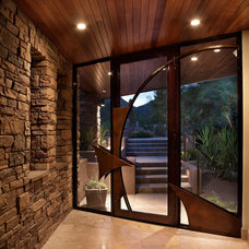 Eclectic Entry by Soloway Designs Inc | Architecture + Interiors