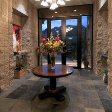 Eclectic Entry by Soloway Designs Inc.