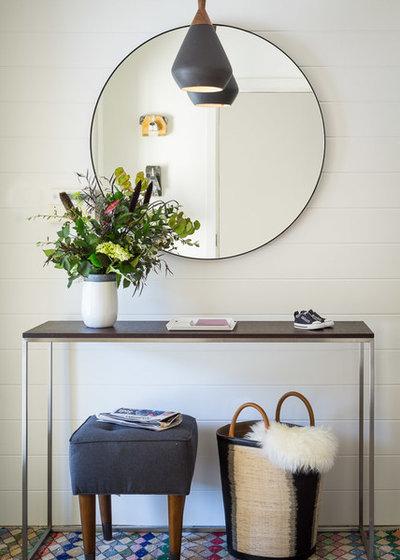 Midcentury Entry by Regan Baker Design Inc.