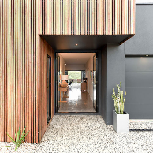 This Is An Example Of A Contemporary Entryway In Sunshine Coast.