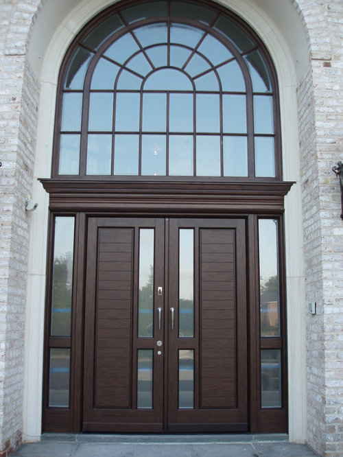 Best grand entrance doors design ideas remodel pictures for Houses with double front doors