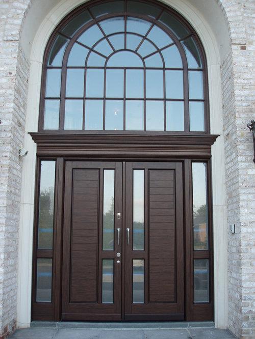 Contemporary entryway idea in New York & Grand Entrance Doors | Houzz Pezcame.Com