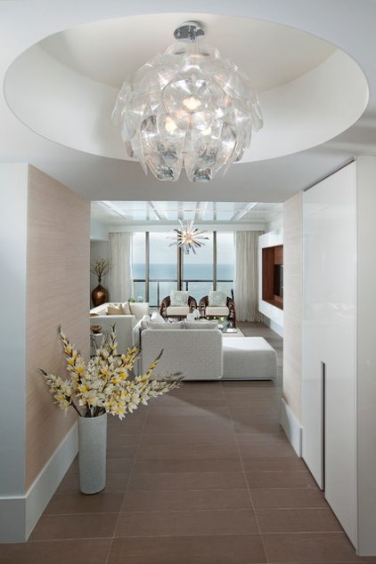 modern entry by DKOR Interiors Inc.- Interior Designers Miami, FL