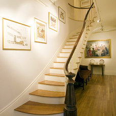 Traditional Entry by Chang + Sylligardos Architects