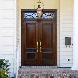 Door By Jefferson Door - House was built by Hotard General Contracting, Inc. Jefferson Door supplied int/ext doors, moulding, columns and hardware.