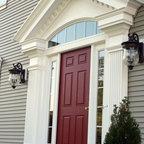 Rocky Ledge Entry Victorian Entry Boston By Lda