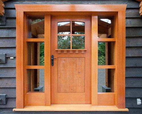 Douglas Fir Custom Entry Doors