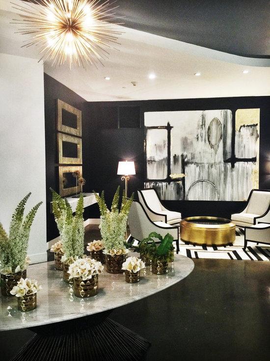 Apartment Lobby Entryway Design Ideas Remodels Photos