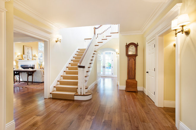 Traditional Entry by Carolyn Woods Design