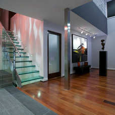 modern entry by Faust Construction
