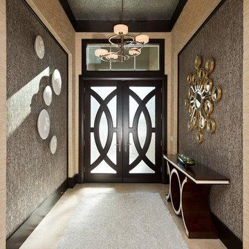 Dramatic Foyer sparkles