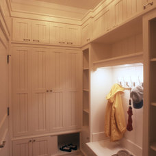 Beach Style Entry by Sylco Cabinetry